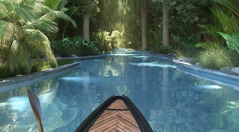Appartement 2 chambres - Residence La Terrasse - Ile Maurice - Vue du canoé