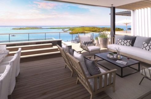 Appartement St Antoine Immobilier L'Ile Maurice Vue Terrasse