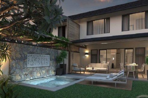 Duplex-3-chambres-Bayview-Estate-Ile-Maurice-Vue-du-jardin