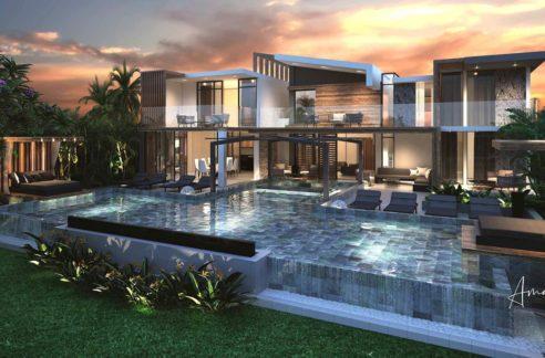 Villa-4-chambres-Amazonia-Villas-Ile-Maurice-Vue-de-la-villa