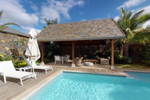 Villa Premium Ile Maurice Kiosque et Piscine