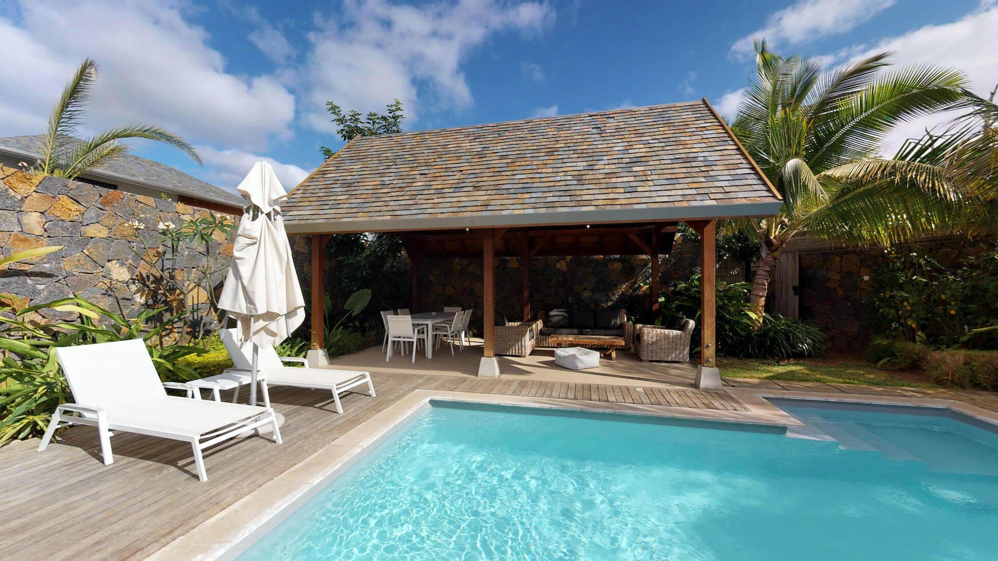 Villa Premium à l'ouest de l'île Maurice (3 Chambres)