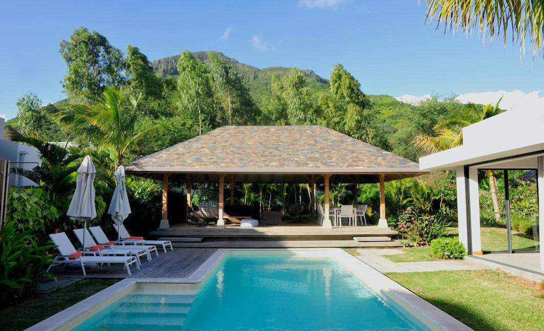 Villa Prestige Ile Maurice Piscine et Vue Montagne