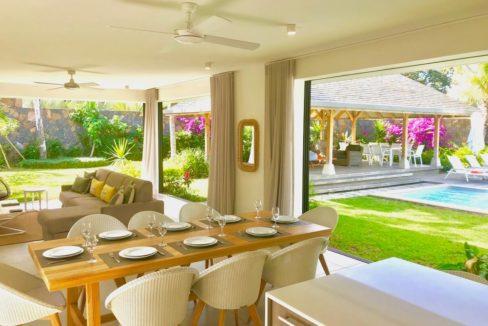 Villa Prestige Ile Maurice Salle à Manger