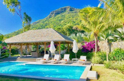 Villa Prestige Ile Maurice Vue Piscine