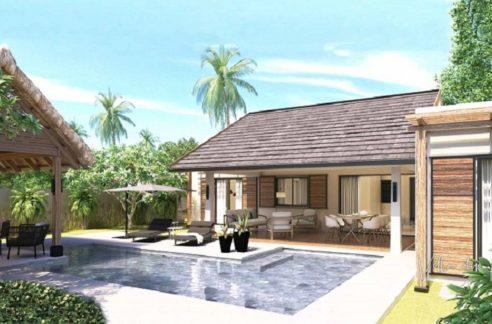 Villa-du-parc-3-Chambres-Deluxe-Ile-Maurice-Vue-de-la-piscine