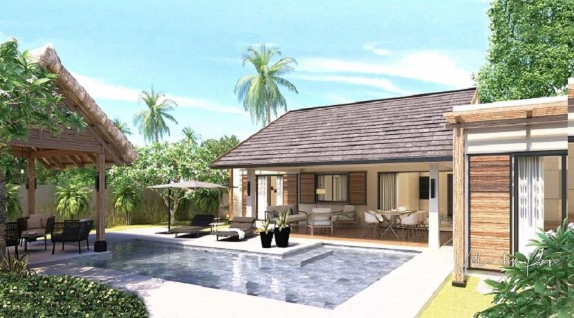 Villa du parc-4 Chambres-Ile Maurice-Vue de la piscine