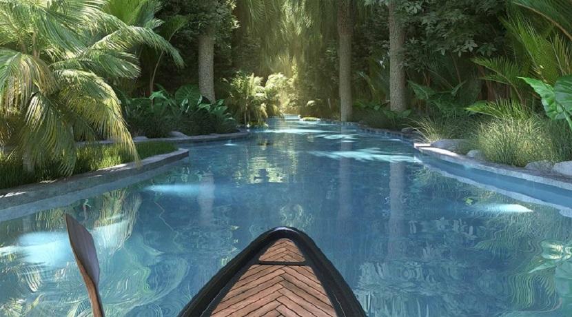 Ville Harmonie 3 chambres-Ile Maurice-Vue du canoé
