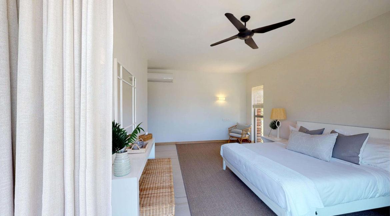 Appartement 4 chambres- Manta-Ile Maurice-Vue-de-la-cahmbre-deux