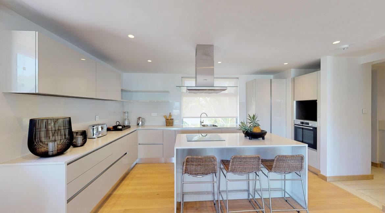 Appartement 4 chambres- Manta-Ile Maurice-Vue-de-la-cuisine