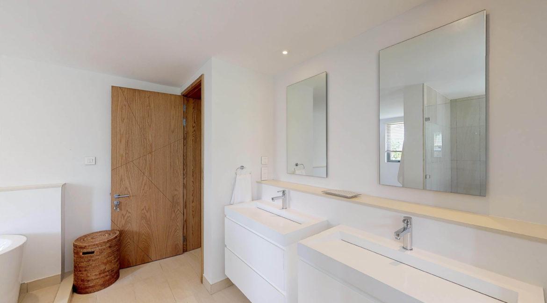Appartement 4 chambres- Manta-Ile Maurice-Vue-de-la-salle-de-bain