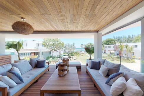 Appartement 4 chambres- Manta-Ile Maurice-Vue-de-la-terrasse