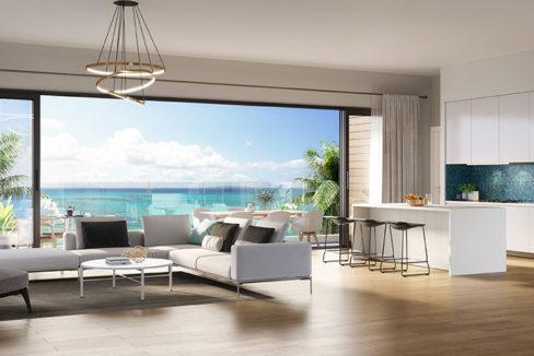 Appartement Alegria Beachfront Ile Maurice Salon