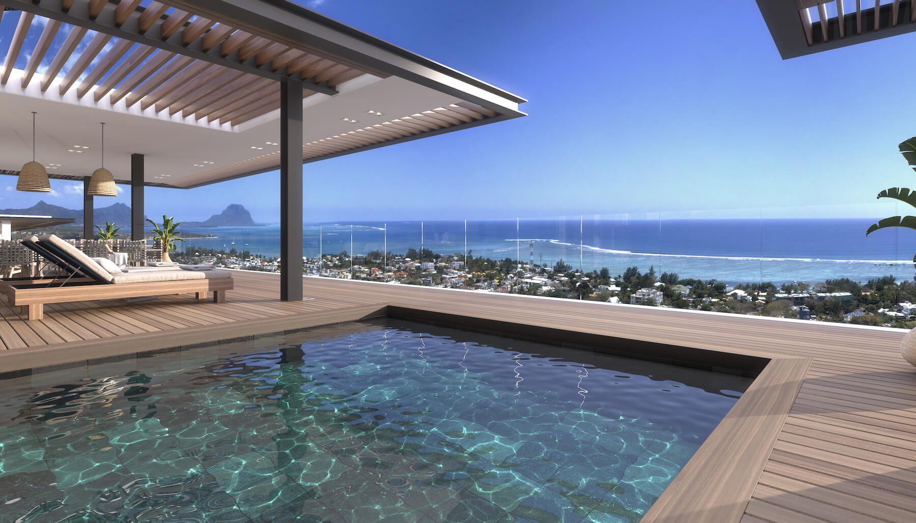 Legend Hill Penthouse West of Mauritius