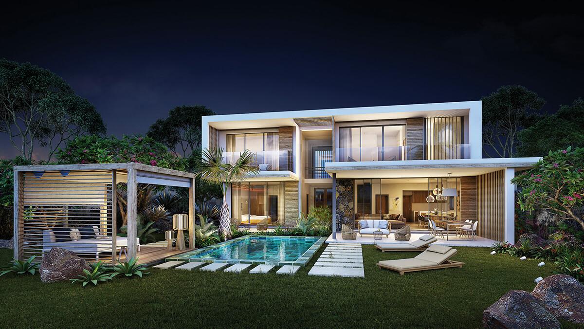 Villa Hameau à l'ouest de l'île Maurice