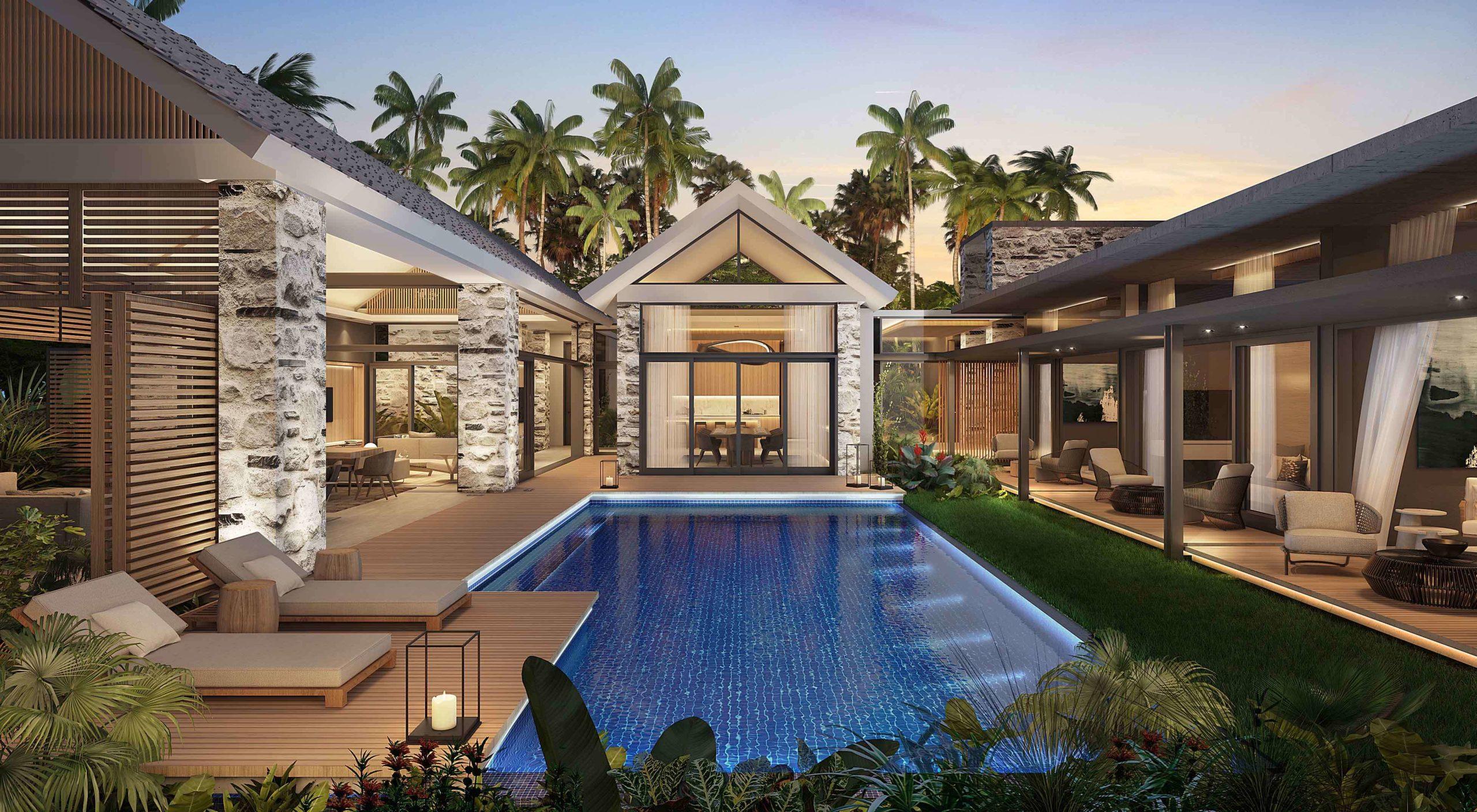 Villa Tranquility 4 Chambres au Nord de l'île Maurice